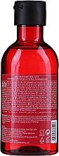 Shampoo mit Erdbeerenextrakt für stumpfes Haar - The Body Shop Strawberry Clearly Glossing Shampoo — Bild N4