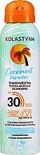 Transparenter trockener Sonnenschutznebel für Körper und Gesicht SPF 30 - Kolastyna Coconut Paradise SPF30 — Bild N1