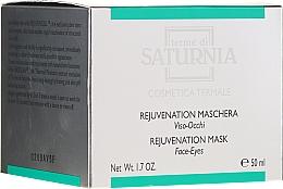 Düfte, Parfümerie und Kosmetik Anti-Aging Gesichts- und Augenmaske - Terme Di Saturnia Rejuvenation Mask Face-Eyes