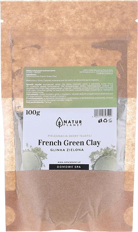 Gesichtsmaske mit grüner Tonerde - Natur Planet French Green Clay