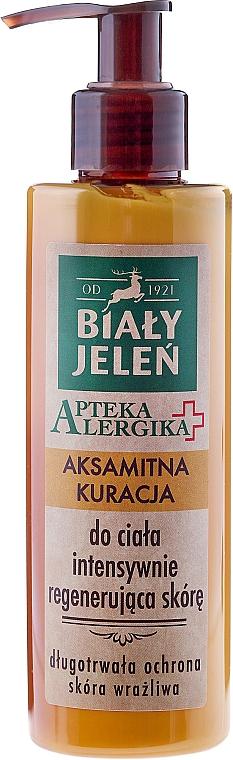Intensiv regenerierende Körpercreme für empfindliche Haut - Bialy Jelen Apteka Alergika Cream-Care For Body