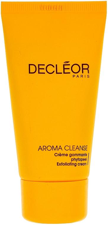 Glättende Gesichtspeeling-Creme mit ätherischen Ölen für alle Hauttypen - Decleor Phytopeel