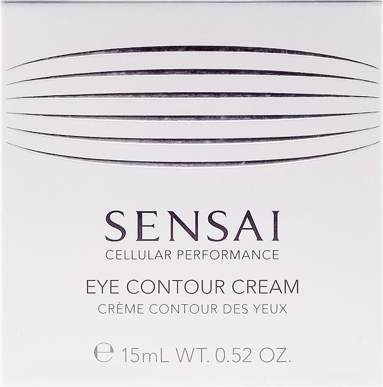 Festigende und feuchtigkeitsspendende Anti-Aging Augenkonturcreme gegen Schwellungen und dunkle Ringe - Kanebo Sensai Cellular Performance Eye Contour Cream