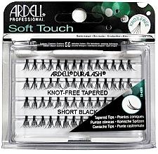 Düfte, Parfümerie und Kosmetik Wimpernbüschel-Set - Ardell Soft Touch Duralash Short Black Tapered Tips