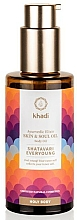 Düfte, Parfümerie und Kosmetik Körperöl Shatavari - Khadi Ayurvedic Elixir Skin & Soul Oil Shatavari Everyoung