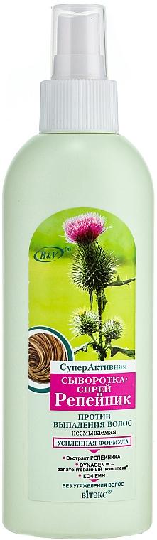 Serum-Spray gegen Haarausfall mit Klettenextrakt - Vitex