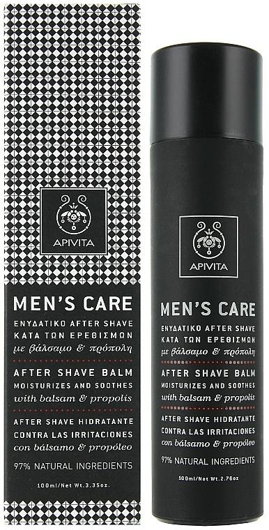 After Shave Balsam mit Johanniskraut und Propolis - Apivita Men Men's Care After Shave Balm With Hypericum & Propolis