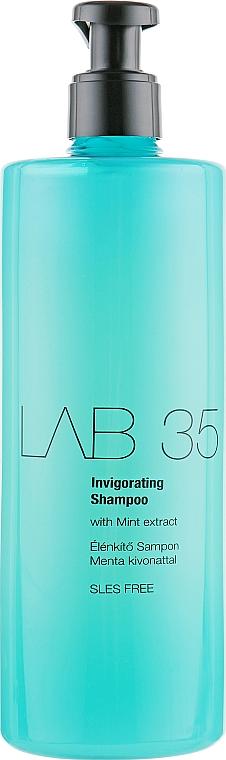 Revitalisierendes Shampoo mit Minzextrakt - Kallos LAB 35 Invigorating Shampoo