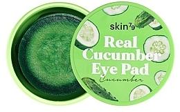 Düfte, Parfümerie und Kosmetik Feuchtigkeitsspendende Augenpatches gegen Schwellungen  mit Gurkenextrakt - Skin79 Real Cucumber Eye Pad