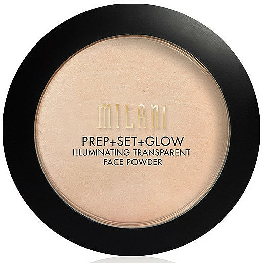 Illuminierendes transparentes Gesichtspuder - Milani Prep + Set + Glow Illuminating Transparent Powder