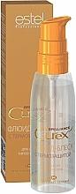 Düfte, Parfümerie und Kosmetik Haarfluid für mehr Glanz mit Hitzeschutz - Estel Professional Curex Brilliance Fluid