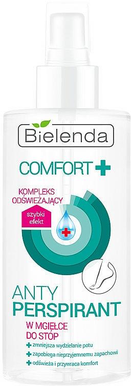 Fußspray Antitranspirant - Bielenda Comfort Foot Antiperspirant Spray Mist