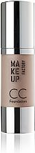 Düfte, Parfümerie und Kosmetik Pflegende CC Foundation SPF 10 - Make Up Factory CC Foundation