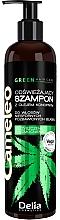 Düfte, Parfümerie und Kosmetik Erfrischendes Shampoo mit Hanföl - Delia Cosmetics Cameleo Green Shampoo