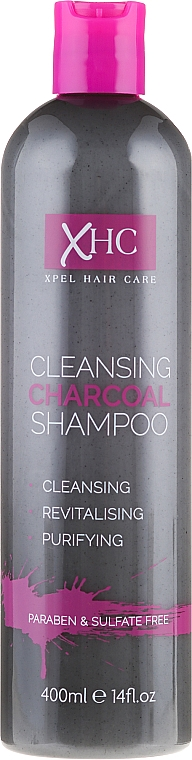 Revitalisierendes Shampoo mit Aktivkohle - Xpel Marketing Ltd Xpel Hair Care Cleansing Purifying Charcoal Shampoo