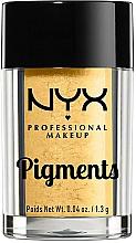 Düfte, Parfümerie und Kosmetik Glänzender Lidschatten - NYX Professional Makeup Pigments