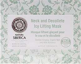 Düfte, Parfümerie und Kosmetik Straffende und kühlende Hals- und Dekolletémaske - Natura Siberica