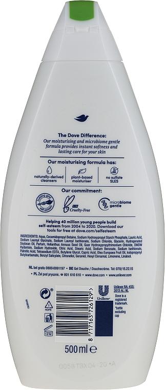 Feuchtigkeitsspendendes und pflegendes Duschgel mit Olivenöl - Dove Protect Care Body Wash — Bild N2