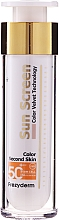 Düfte, Parfümerie und Kosmetik Getönte Sonnenschutzcreme für das Gesicht SPF 50+ - Frezyderm Sun Screen Color Velvet Face Cream SPF 50+