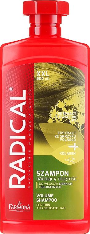 Shampoo für mehr Volumen - Farmona Radical Volume Shampoo — Bild N3