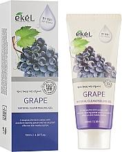 Düfte, Parfümerie und Kosmetik Peeling-Gel mit Traube - Ekel Grape Natural Clean Peeling Gel