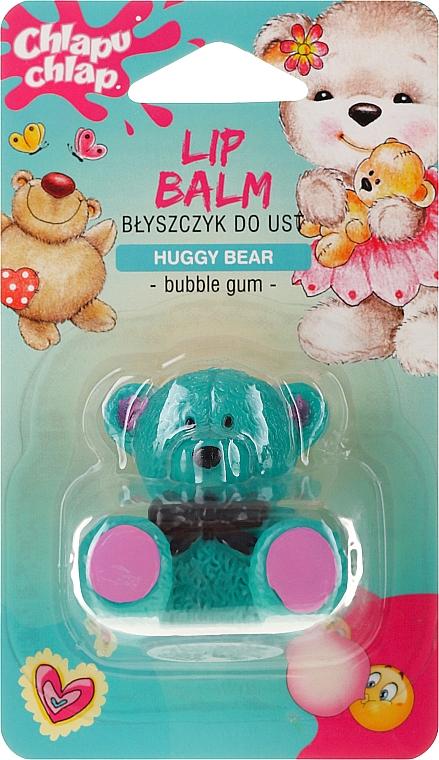 Pflegender Lippenbalsam für Kinder mit Kaugummiduft und Bienenwachs Bärchen - Chlapu Chlap Lip Balm