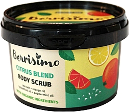 Düfte, Parfümerie und Kosmetik Körperpeeling mit Orangen-, Grapefruit- und Pfefferminzöl - Berrisimo Citrus Blend Body Scrub