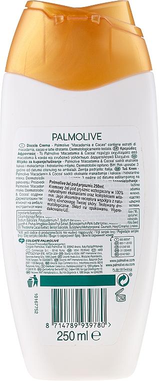 Duschmilch mit Macadamia und Kakao - Palmolive Naturals Smooth Delight Shower Milk — Bild N2