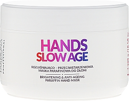 Düfte, Parfümerie und Kosmetik Aufhellende Anti-Aging Handmaske mit Paraffin gegen Pigmentflecken - Farmona Professional Hands Slow Age Brightening And Anti-ageing Paraffin Hand Mask