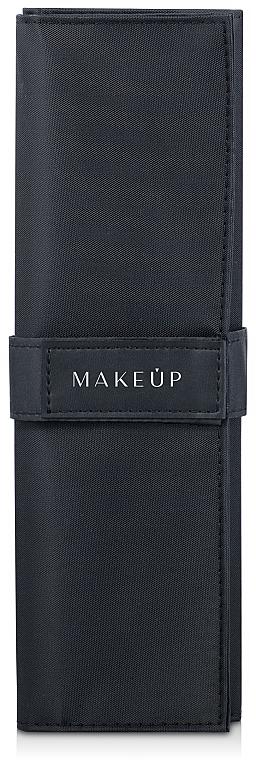 Make-up Etui für 10 Pinsel Basic schwarz - Makeup