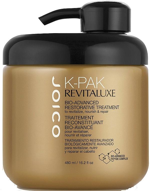 Revitalisierende Bio-Haarmaske mit Keratin und Peptiden - Joico K-Pak Revitaluxe Bio-Advanced Restorative Treatment