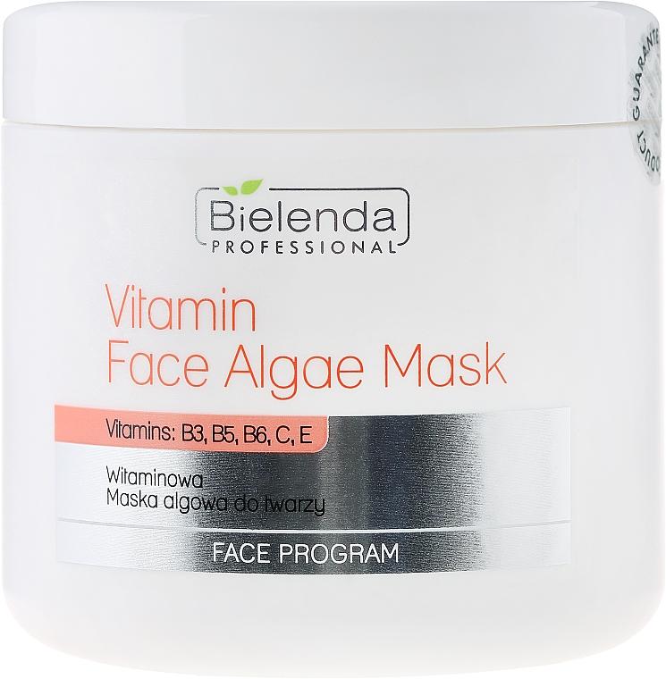 Alginat-Gesichtsmaske mit Vitaminen B3, B5, B6, C und E - Bielenda Professional Program Face Vitamin Face Algae Mask