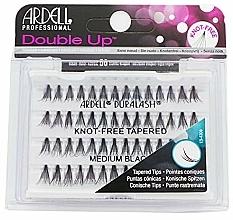 Düfte, Parfümerie und Kosmetik Wimpernbüschel-Set - Ardell Double Up Soft Touch Knot- Free Medium Black