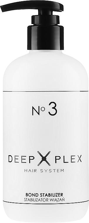 Farbschützende Haarkur für blondes, aufgehelltes Haar - Stapiz Deep Plex No.3 Bond Stabilizer