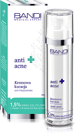 Gesichtscreme gegen Akne mit 1,5% Salicylsäure - Bandi Medical Expert Anti Acne Treatment Cream