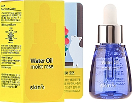 Düfte, Parfümerie und Kosmetik Feuchtigkeitsspendendes Gesichtsserum mit Rosenwasser und Chia-Samen-Extrakt - Skin79 Water Oil Moist Rose