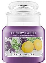 Düfte, Parfümerie und Kosmetik Duftkerze im Glas Lemon Lavender - Country Candle Lemon Lavender