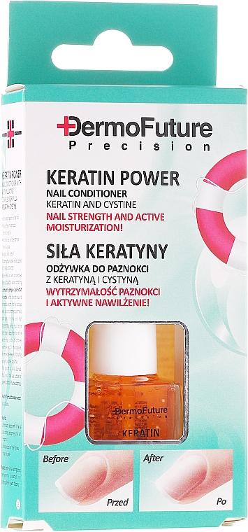 Nagelbalsam mit Keratin und Cystin - Dermofuture Keratin Power Nail Conditioner Keratin&Cystine