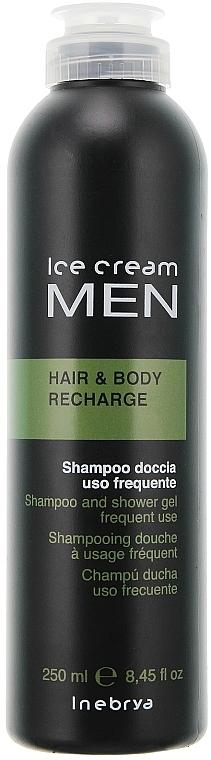 2in1 Shampoo und Duschgel für Männer - Inebrya Ice Cream Men Hair and Body Recharge