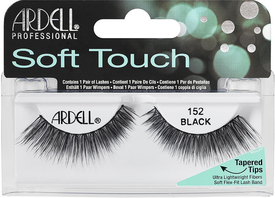 Künstliche Wimpern - Ardell Soft Touch Eye Lashes Black 152