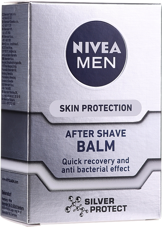 """After Shave Balsam """"Silver Protect"""" - Nivea For Men Silver Protect After Shave Balm"""