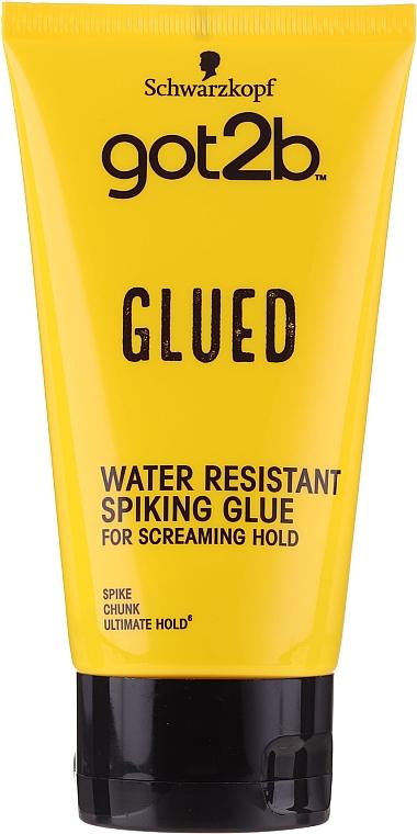 Wasserdichtes Stylinggel für das Haar - Schwarzkopf Got2b Glued Spiking Glue
