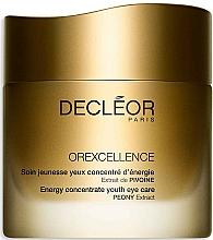 Düfte, Parfümerie und Kosmetik Verjüngende Augencreme - Decleor Orexcellence Energy Concentrate Youth Eye Care