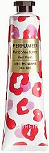 Düfte, Parfümerie und Kosmetik Pflegende Handcreme mit roter Pflaume - The Saem Perfumed Red Plum Hand Shea Butter