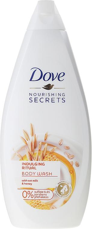 Pflegende Duschgel-Creme mit Hafermilch und Honig - Dove Nourishing Secrets Indulging Ritual