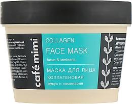 Düfte, Parfümerie und Kosmetik Tief feuchtigkeitsspendende und erneuernde Gesichtsmaske für mehr Hautelastizität mit Fucus und Seetang - Cafe Mimi Face Mask