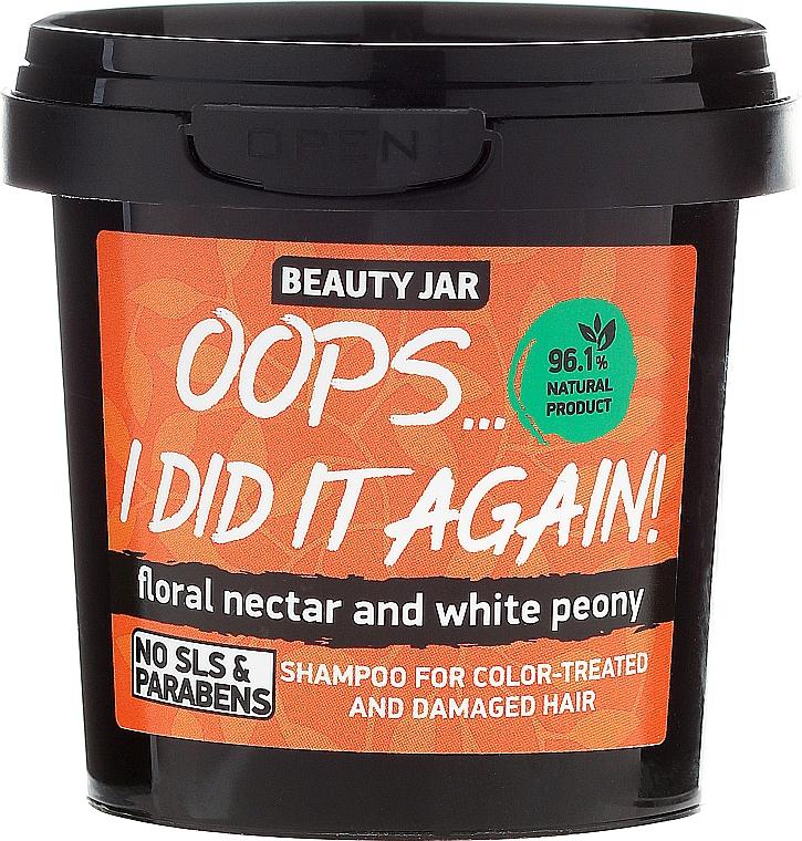 "Shampoo für coloriertes Haar ""Oops…I did it again!"" - Beauty Jar Shampoo For Colour-Treated And Damaged Hair"