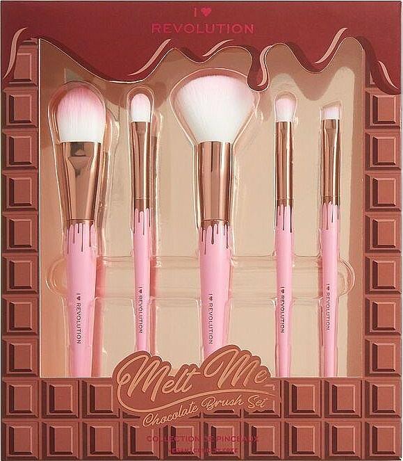 Make-up Set - I Heart Revolution Chocolate Brush Set