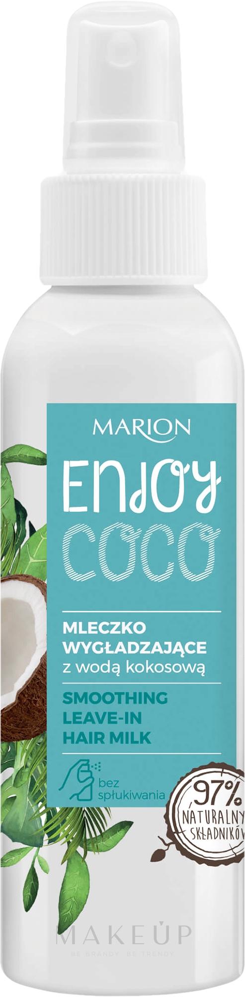 Glättende Haarmilch mit Kokoswasser ohne Ausspülen - Marion Enjoy Coco Smoothing Leave In Hair Milk — Bild 150 ml