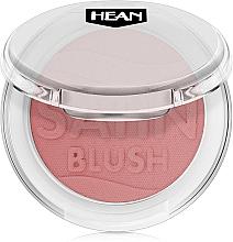 Düfte, Parfümerie und Kosmetik Gesichtsrouge mit Satinglanz - Hean Satin Blush